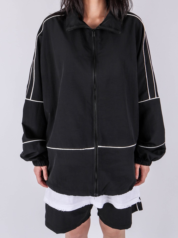 justyoung-PM 47 Taping Jacket (2color)♡韓國男裝外套