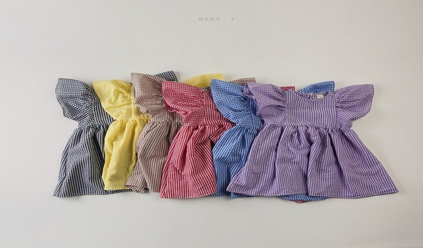 lovely2min-바바제이 기획 지지미나비원피스(XS~XL)맘커플 - lovely2min♡韓國童裝連身裙