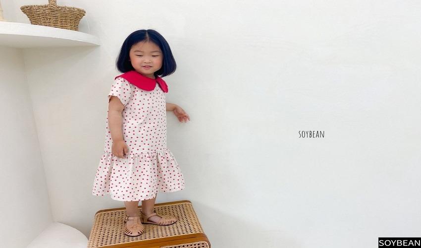 lovely2min-소이빈 기획 도트빈원피스 (XS~3XL) - lovely2min♡韓國童裝連身裙