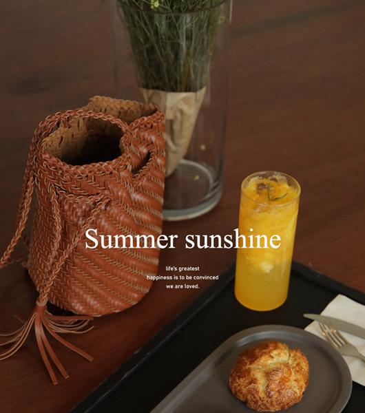 roompacker-룸페커 [폼폼 크로스&숄더 버킷백]♡韓國女裝袋