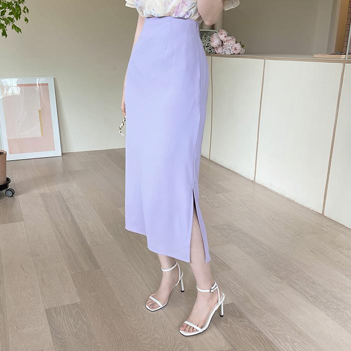 myfiona-라이나 옆트임 찰랑 롱스커트 a1550 - 러블리 로맨틱 1위 쇼핑몰 피오나♡韓國女裝裙