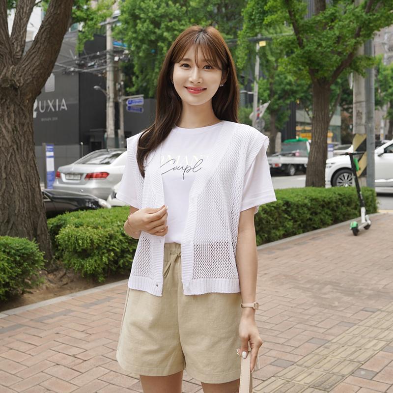 clicknfunny-스캇 니트베스트♡韓國女裝外套