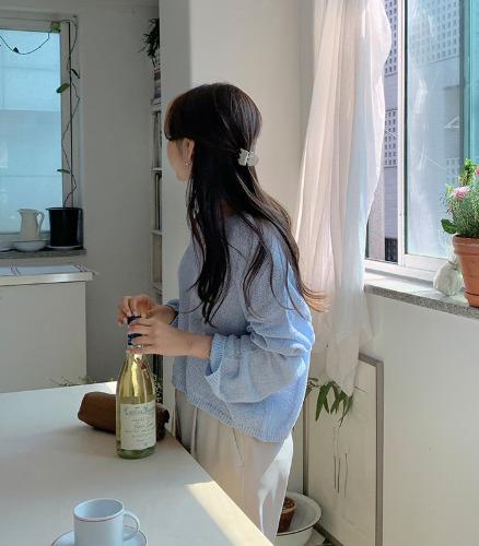 withyoon-선데이 브이 knit♡韓國女裝上衣