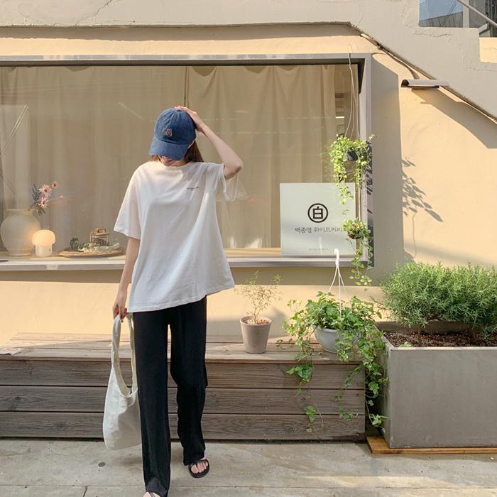cherrykoko-[로스터 반팔 티셔츠]♡韓國女裝上衣