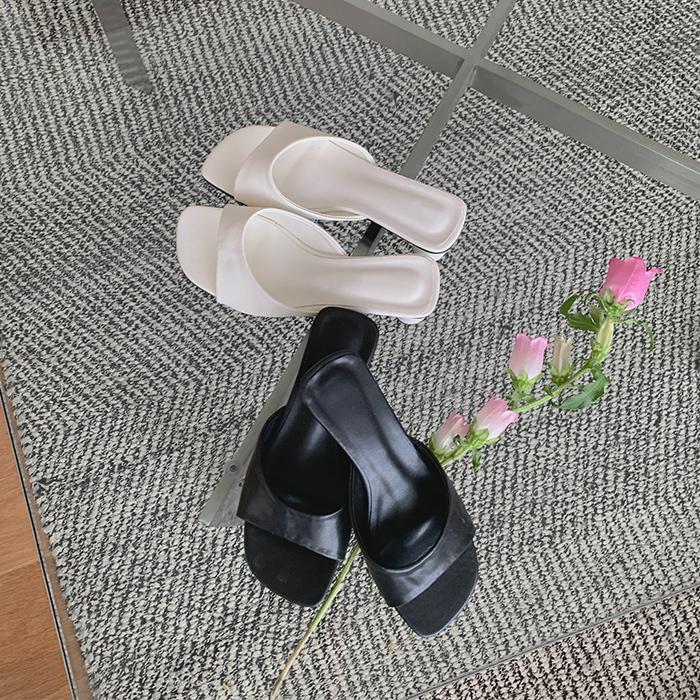 cherrykoko-[라운드 심플 슬리퍼]♡韓國女裝鞋