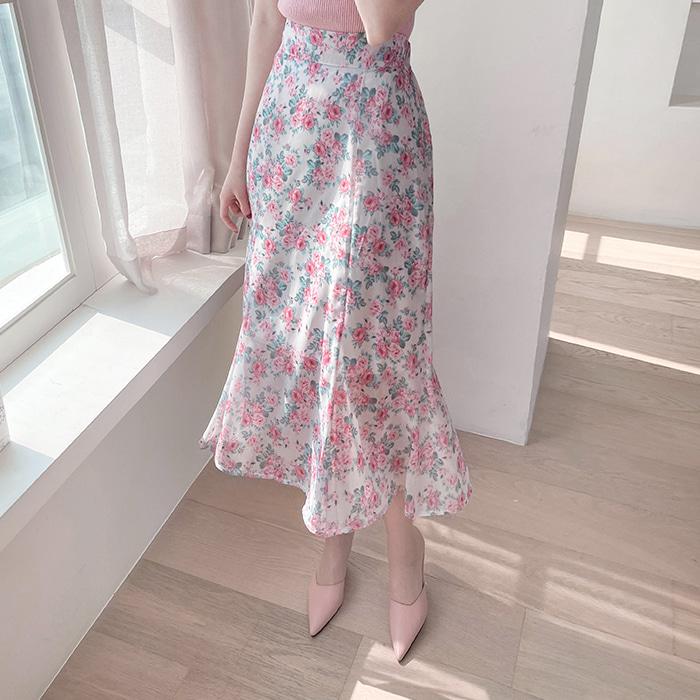 myfiona-리플라 쉬폰 밴드스커트 a1489 - 러블리 로맨틱 1위 쇼핑몰 피오나♡韓國女裝裙