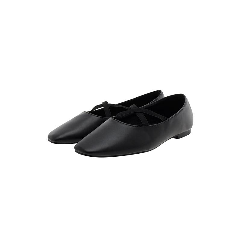 attrangs-sh2290 러블리한 크로스 밴딩 디자인의 데일리 플랫슈즈 shoes♡韓國女裝鞋