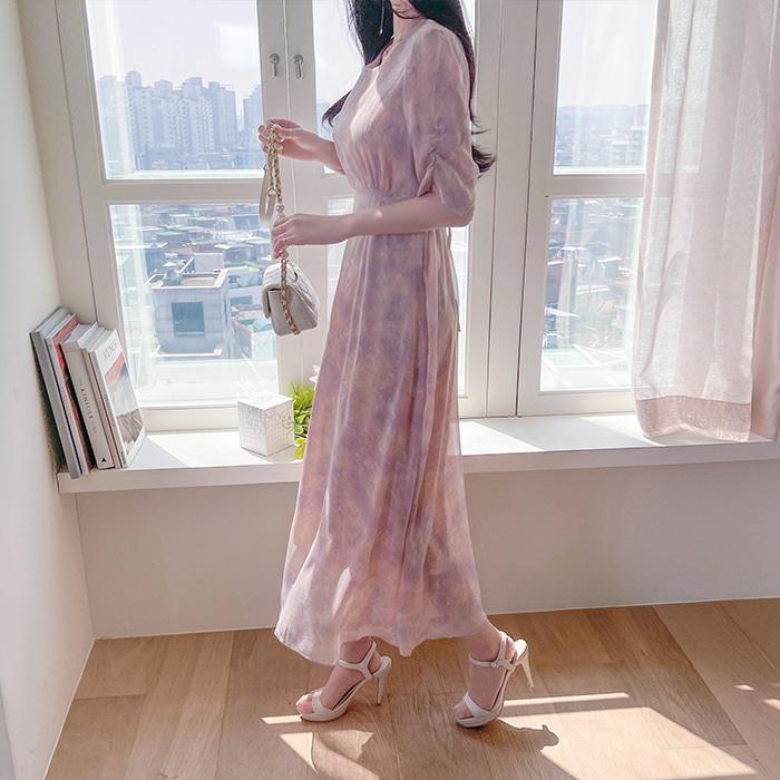 myfiona-플로아 하늘하늘 롱원피스 a1484 - 러블리 로맨틱 1위 쇼핑몰 피오나♡韓國女裝連身裙