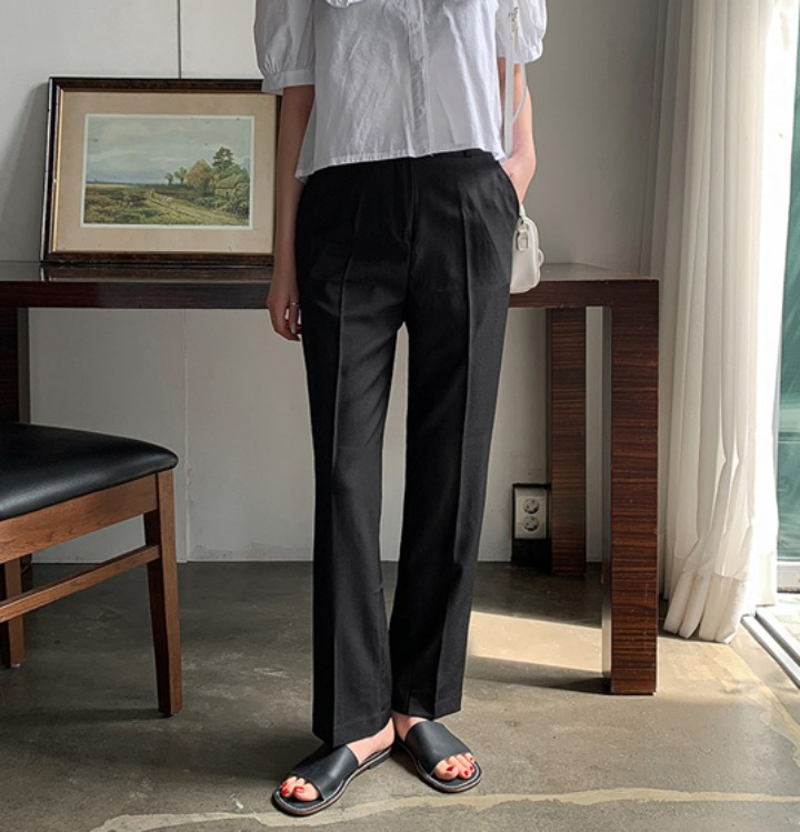 merongshop-[무료배송] 레이드 베이직 슬랙스 - 5 size♡韓國女裝褲
