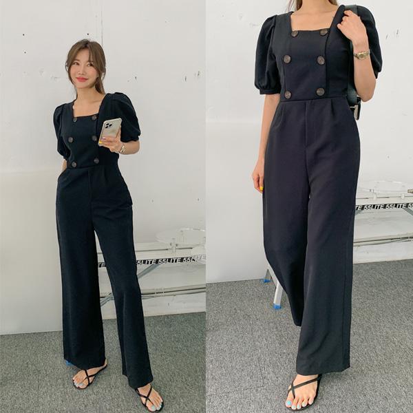 planj-미라클 점프수트♡韓國女裝褲