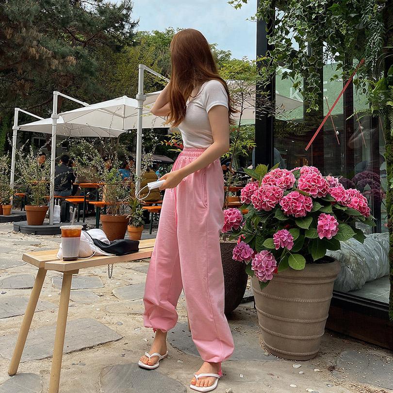 liphop-[2WAY스트링팬츠]♡韓國女裝褲