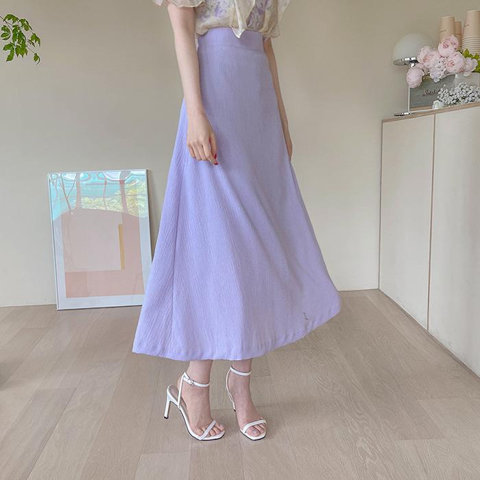 myfiona-모넨 찰랑 A라인 롱스커트 a1502 - 러블리 로맨틱 1위 쇼핑몰 피오나♡韓國女裝裙
