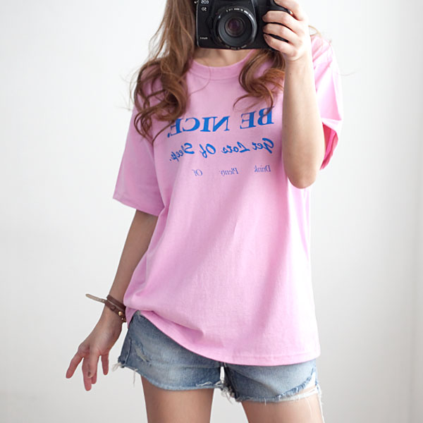 missylook-[비나이스 반팔티]♡韓國女裝上衣