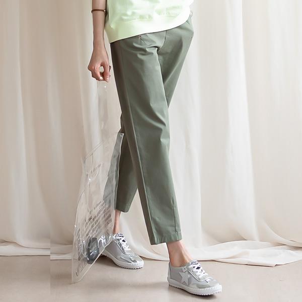 misscandy-[no.20416 배기핏 밑단다트 밴딩팬츠]♡韓國女裝褲