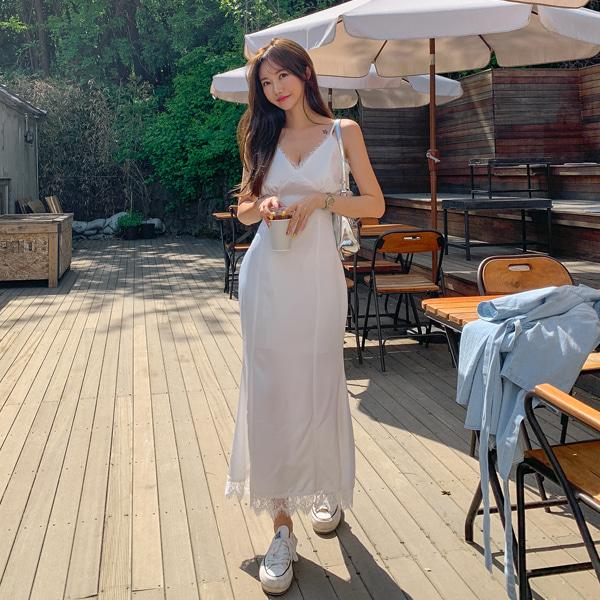 planj-레이스 머메이드 원피스♡韓國女裝連身裙