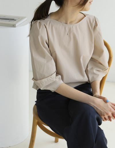 indibrand-나리 벌룬 블라우스♡韓國女裝上衣
