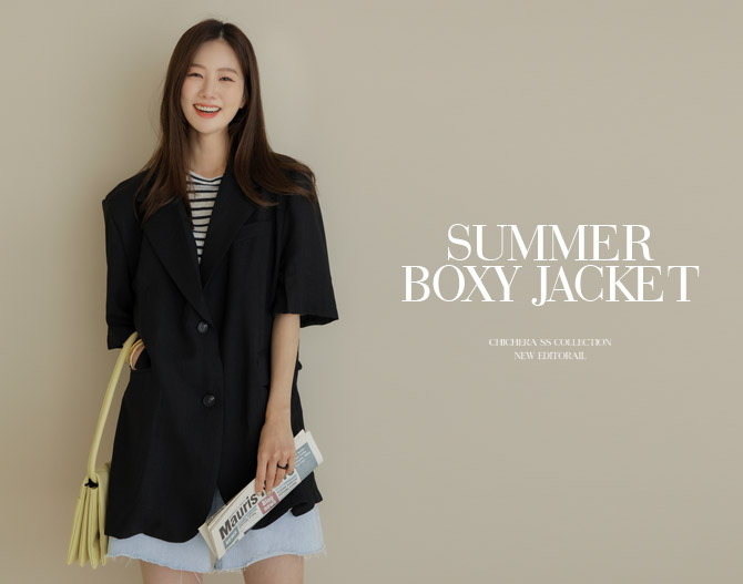 chichera-세련된 그녀들의 선택, 시크헤라[썸머박시자켓]♡韓國女裝外套