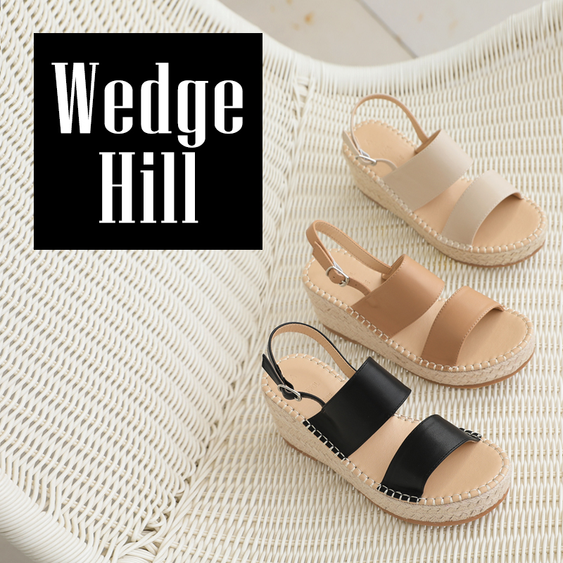clicknfunny-세본즈 통굽웨지힐♡韓國女裝鞋