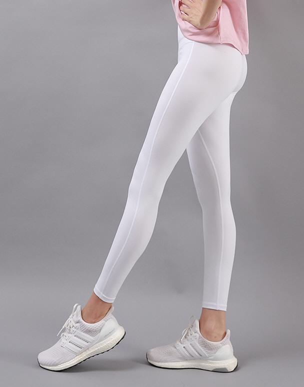 chamar-[CP179 THE 심플(화이트)]♡韓國瑜伽女裝褲