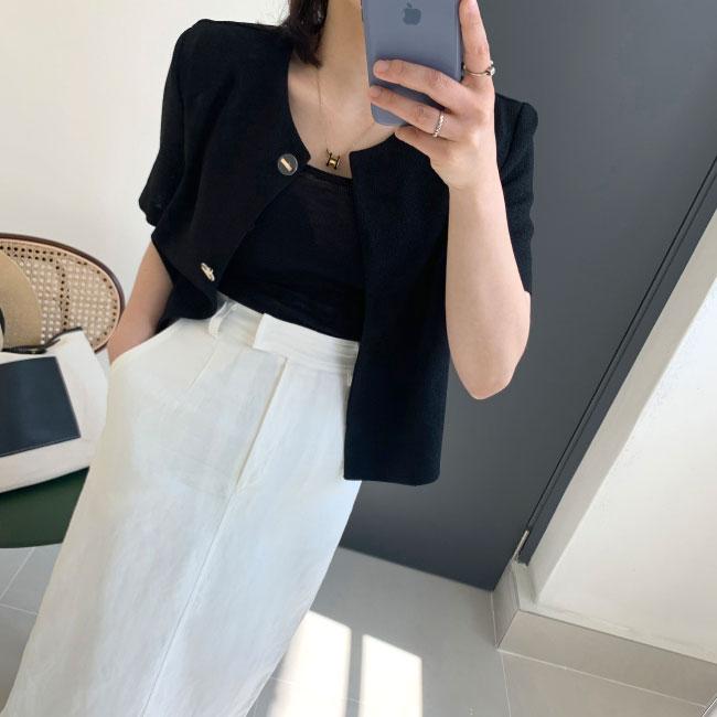 candyglow-[썸머트위드 자켓]♡韓國女裝外套