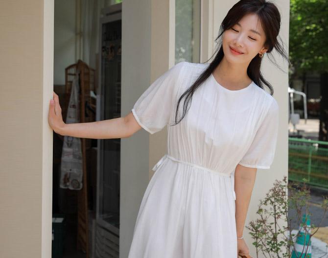 chichera-세련된 그녀들의 선택, 시크헤라[리코셔링끈원피스]♡韓國女裝連身裙