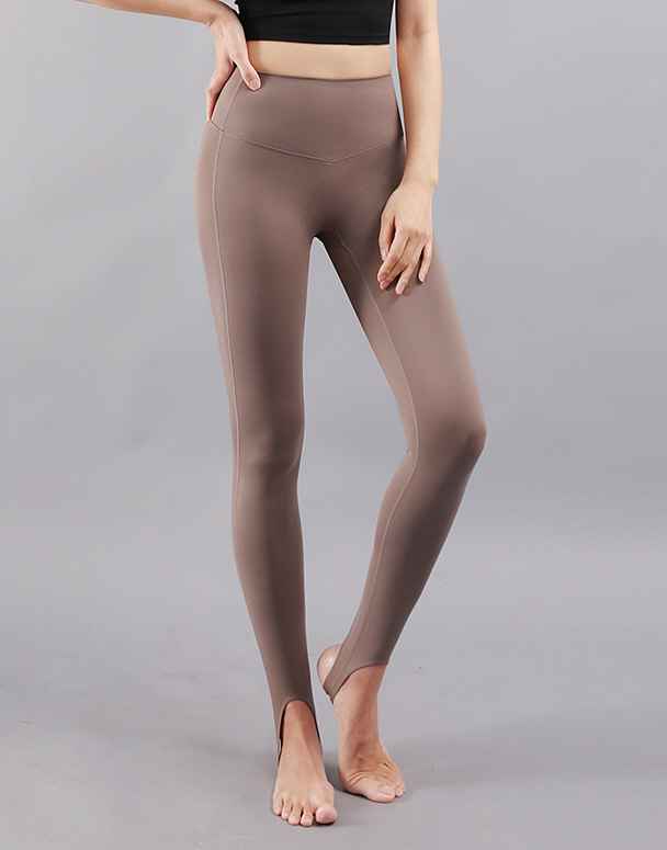 chamar-[CP231 챠드 고리 레깅스(브라운)]♡韓國瑜伽女裝褲