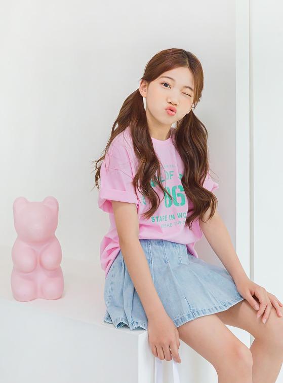 stylenoriter-[CBU] 그루브 티.tsh♡韓國童裝上衣