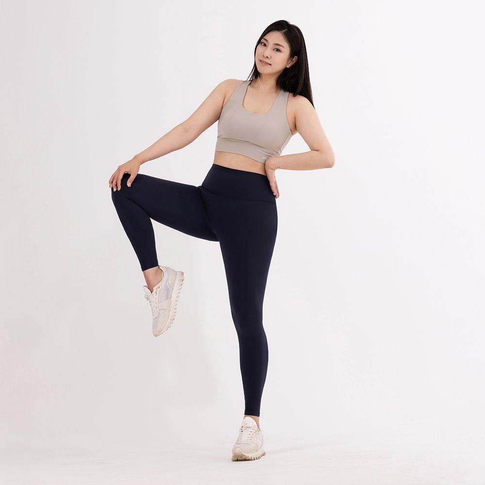 skullpig-플렉스 에어 레깅스 마이크로 네이비 (씬님레깅스)♡韓國瑜伽女裝褲