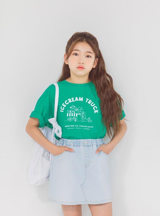 stylenoriter-[CBU] 위드유 티.tsh♡韓國童裝上衣