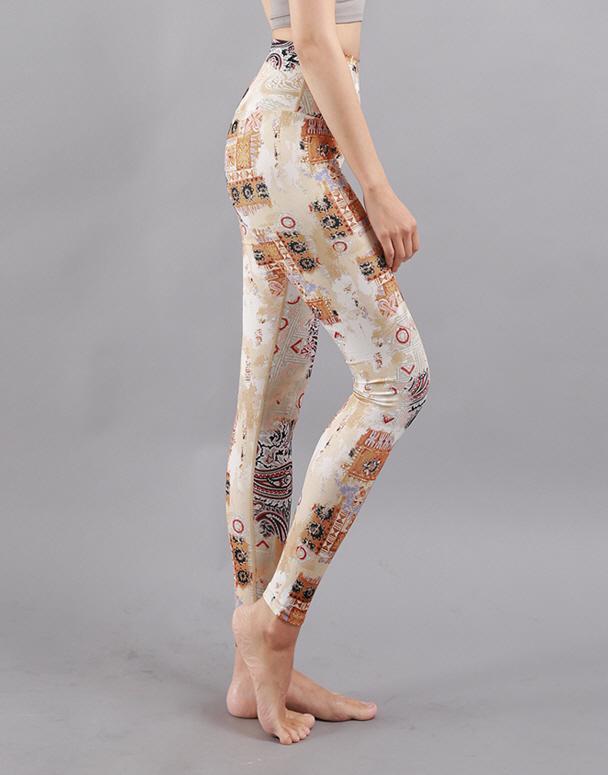chamar-[CP229 빈티지]♡韓國瑜伽女裝褲