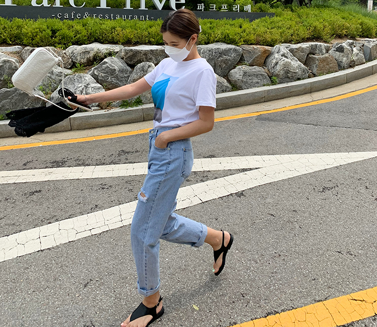 dossau-두쏘[롤린더-pt]♡韓國女裝褲