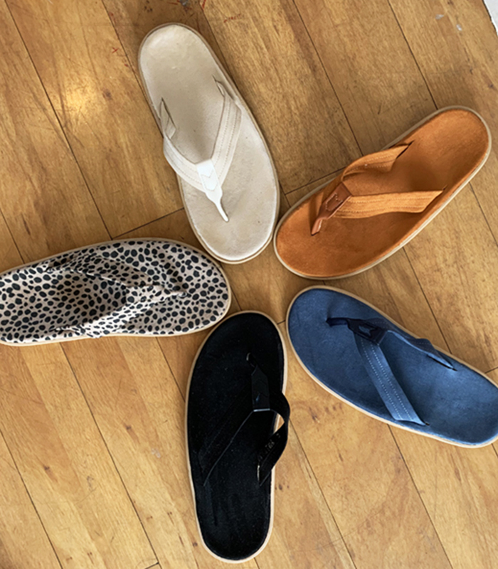 sibuya-[말랑 스웨이드 플립플랍 (재입고)]♡韓國女裝鞋