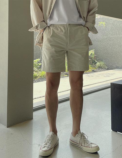from-us-데일리 바이오 워싱 밴딩쇼츠 (7color)♡韓國男裝褲子