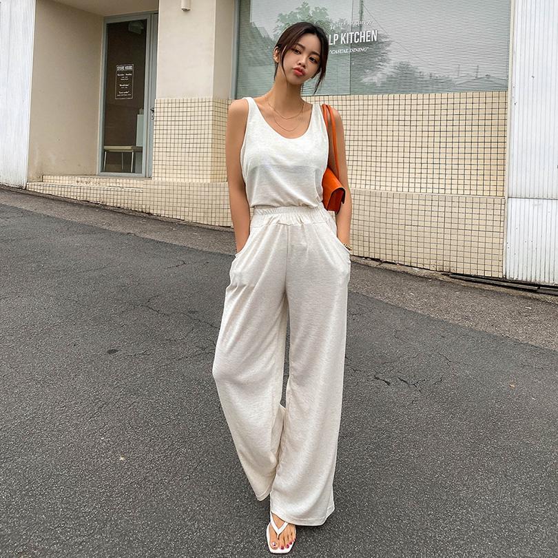 liphop-[코지이너팬츠세트[린넨15%]]♡韓國女裝套裝