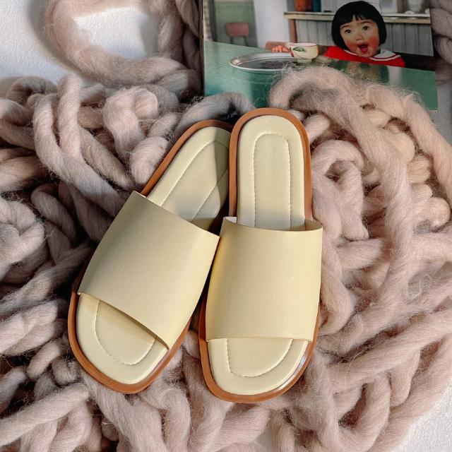 banharu-반하루[바이런 배색 슬리퍼]♡韓國女裝鞋