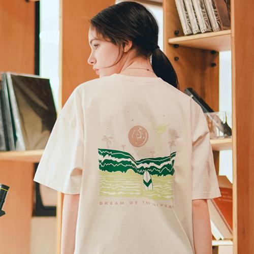 fairplay142-[[티떠블유엔] 플로우 반팔 아이보리 EYST3377]♡韓國男裝上衣