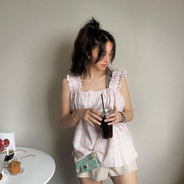mybany-팡팡#나시BL♡韓國女裝上衣