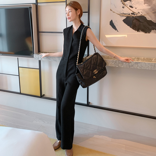 partysu-[Cori linen jump suit ]♡韓國女裝連身裙