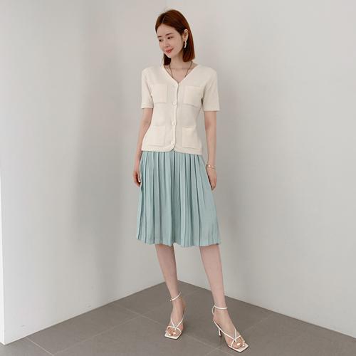 partysu-[Poin pleats skirt]♡韓國女裝裙
