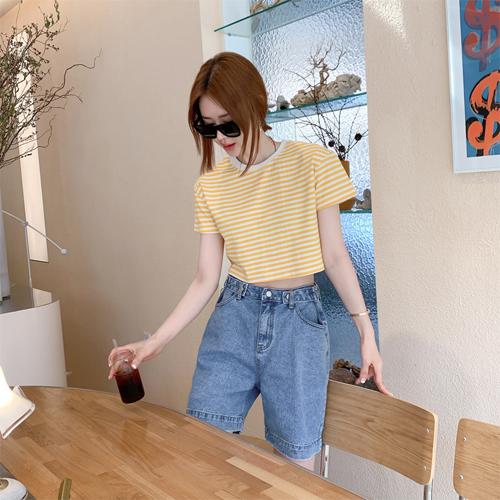 partysu-[Bizo denim pants]♡韓國女裝褲