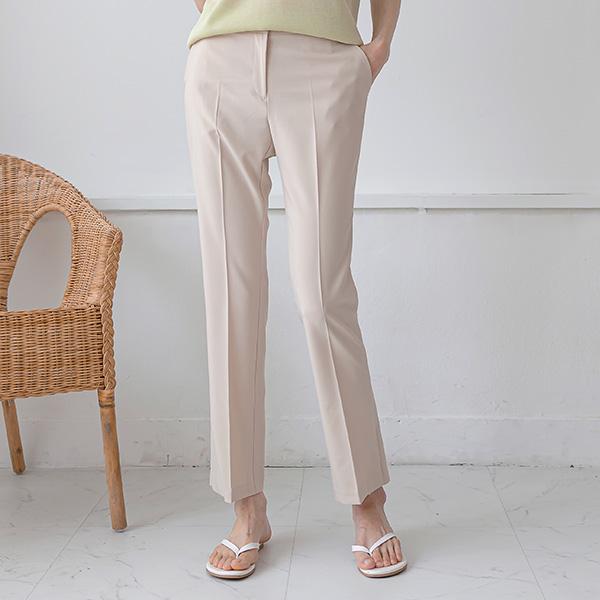 misscandy-[no.20572 히든트임 일자핏 썸머슬랙스]♡韓國女裝褲