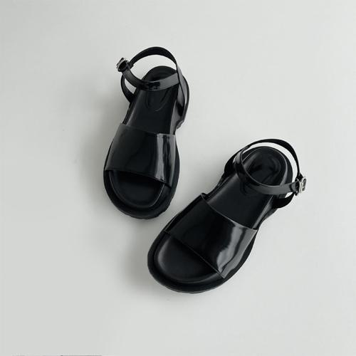partysu-[1243 black sandal ♩]♡韓國女裝鞋