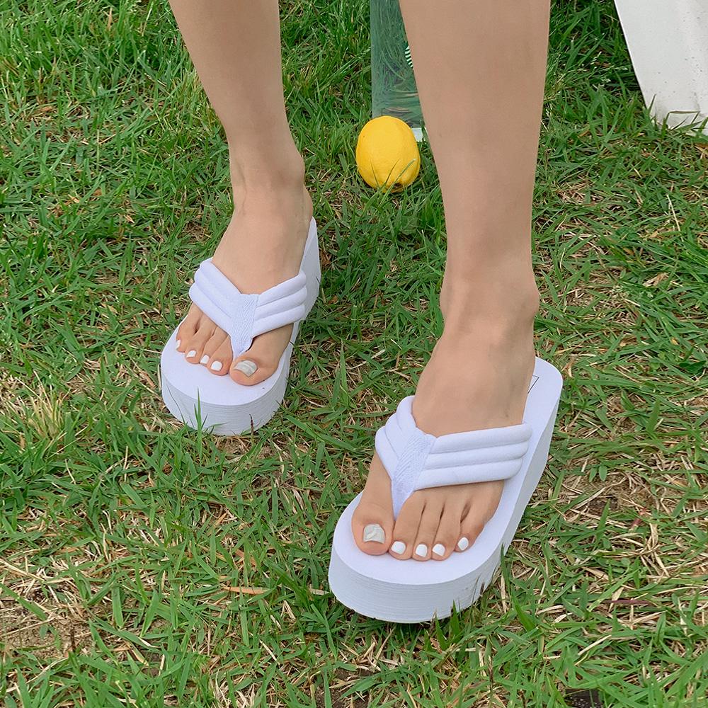 blackup-마델리 플랫폼 쪼리♡韓國女裝鞋