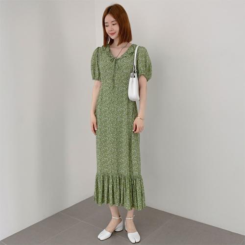 partysu-[Roje frill dress]♡韓國女裝連身裙