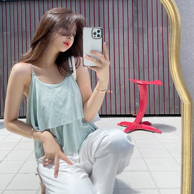 mybany-찰랑체인BL♡韓國女裝上衣