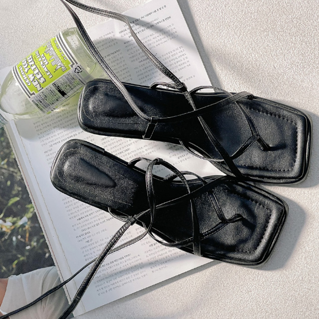 banharu-반하루[하니 스트랩 샌들힐]♡韓國女裝鞋