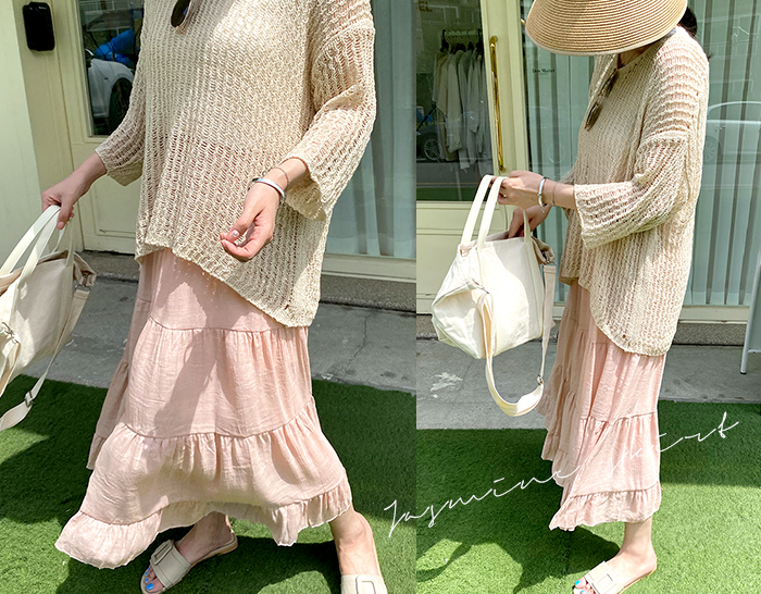 ssunny-[쟈스민 러플스커트]♡韓國女裝裙