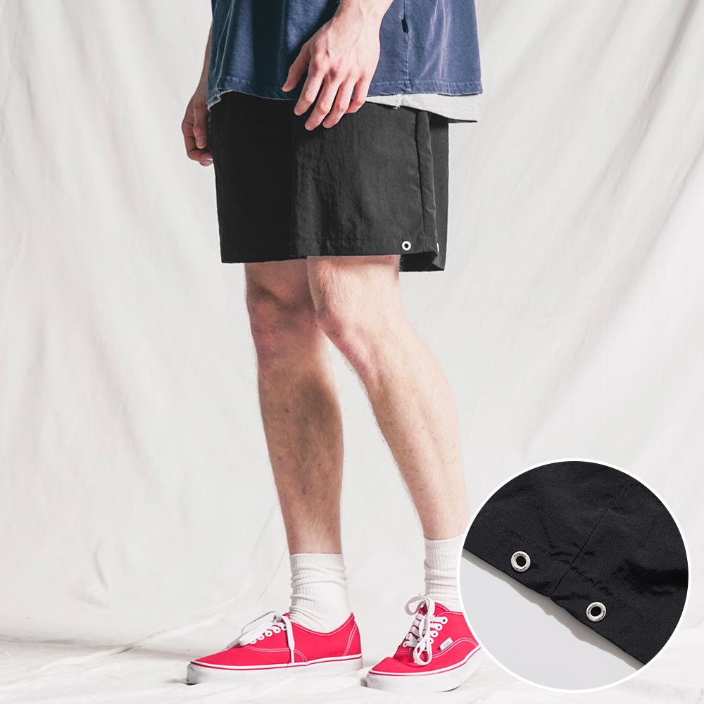 fairplay142-[[6/18배송][더블유브이프로젝트] 썸머웨이브 숏팬츠 블랙 KMSP7496]♡韓國男裝褲子