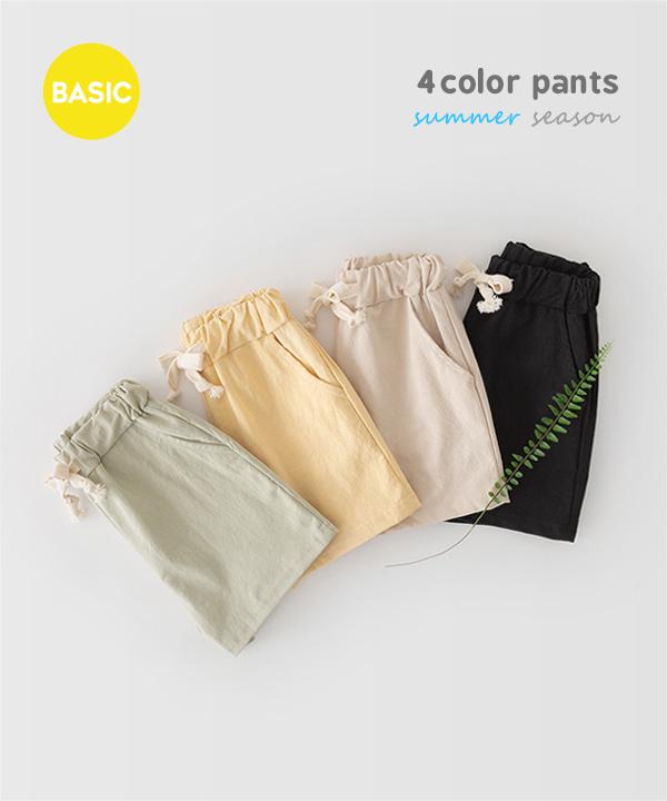 harukids-클라드밴딩숏팬츠[팬츠BDDU89]♡韓國童裝褲
