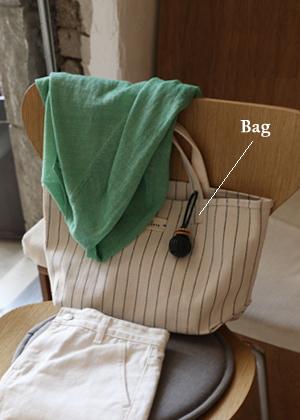 annanblue-[SARA stripe bag(16일 PM5 5% 마감)]♡韓國女裝袋